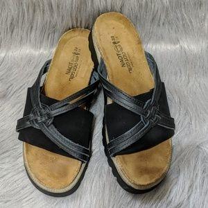 Noat Leather cork Sandals